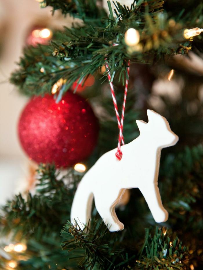basteln mit salzteig weihnachten dekoideen weihnachtsbaum