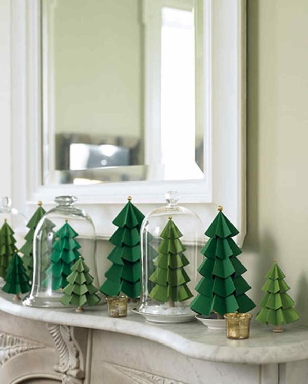 Diy weihnachtsgeschenke aus und mit papier die zugleich for Fensterdeko weihnachten basteln papier