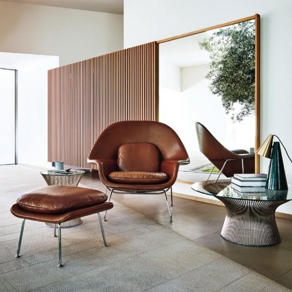 beige relax stuhl aus mehreren modulen