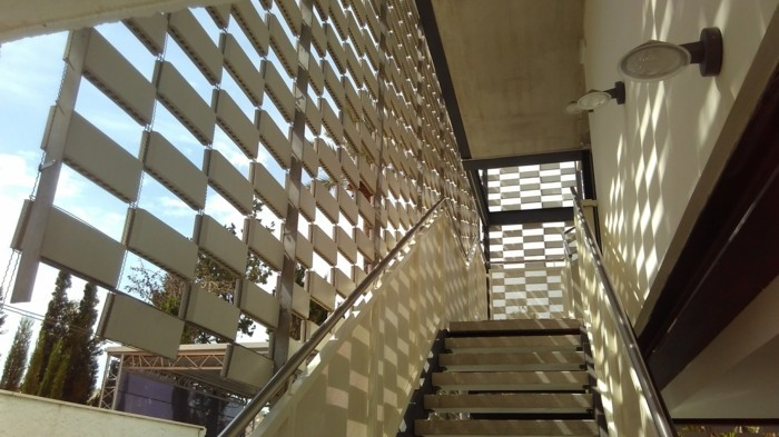 belüftete fassade treppenhaus