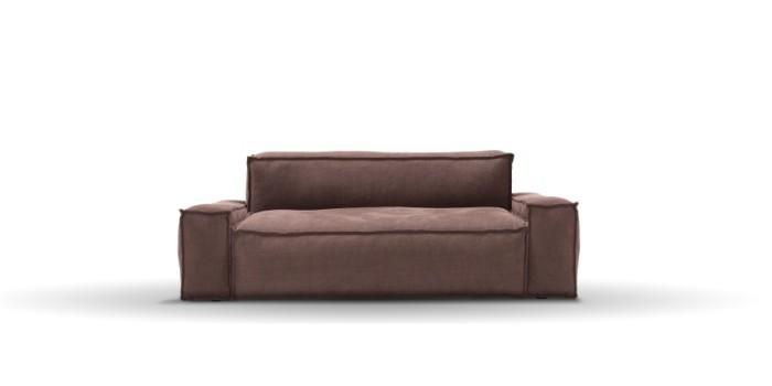 braunes sofa designklassiker