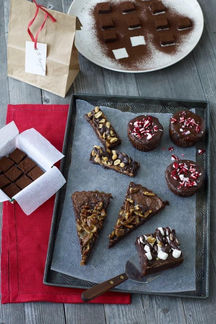 brownie rezept idee weihnachtsdesser