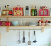 Kuchenoberschranke Und Regale Fur Minimalistische