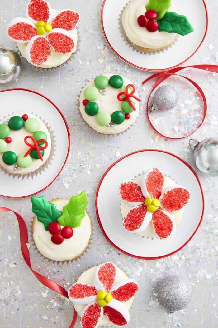 cupcakes zu weihnachten selber machen weihnachtsdessert