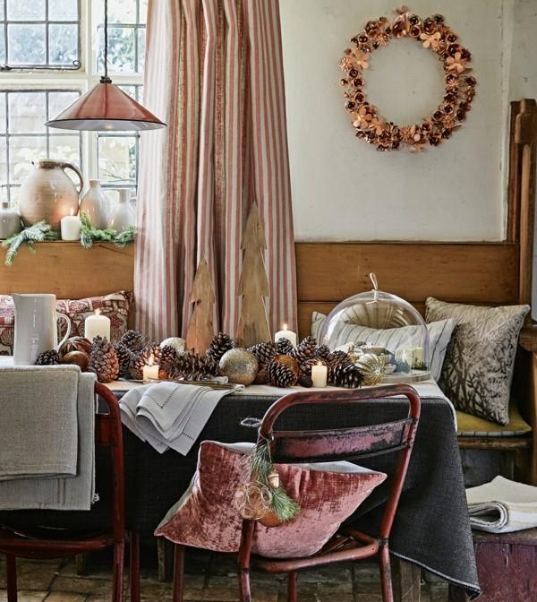 delightful einfache dekoration und mobel raeume interessanter machen #9: dezenter türkranz, der sich ideal im Raum einschreibt