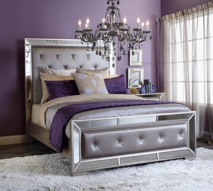 Wandfarbe Violett Lila Kolorat Eine Auswahl In Lila: Die Farbe Lila In Der Modernen Einrichtung