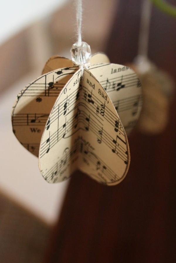 diy papier schmuck weihnachten