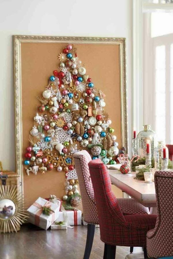 diy weihnachtsbaum dekoanhaenger farbig festlich