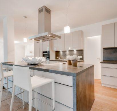 Offene Küche In Weiß U2013 Strategien Für Die Moderne Raumgestaltung
