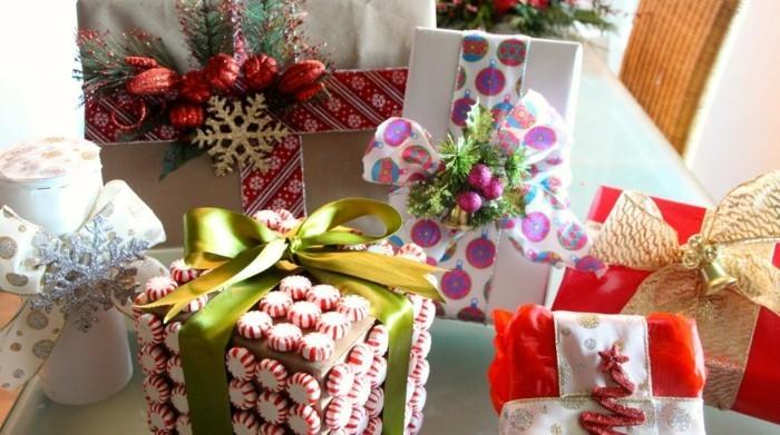 geschenke origenell verpacken weihanchtsbasteln geschenkideen bonbons