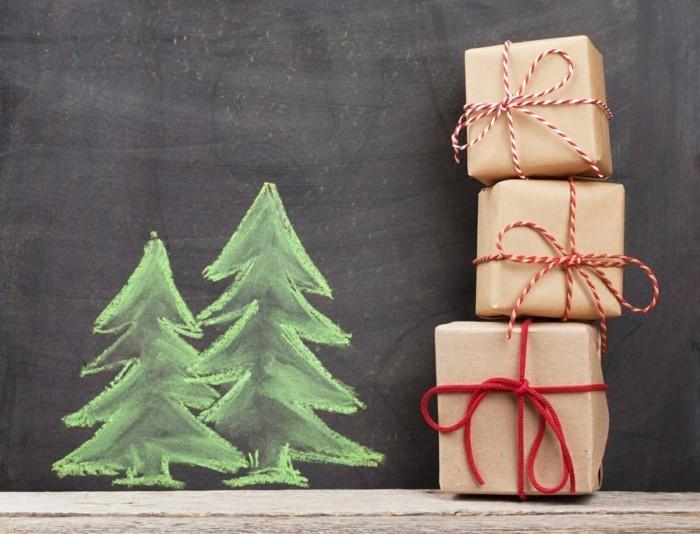 geschenke origenell verpacken weihanchtsbasteln geschenkideen einfach