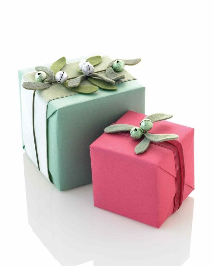 geschenke origenell verpacken weihanchtsbasteln geschenkideen festlich