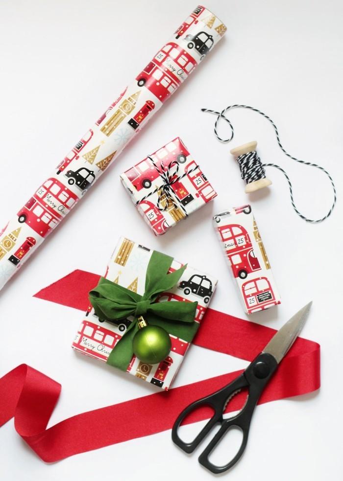 geschenke origenell verpacken weihanchtsbasteln geschenkideen geschenkpapier weihnachtsgeschenke