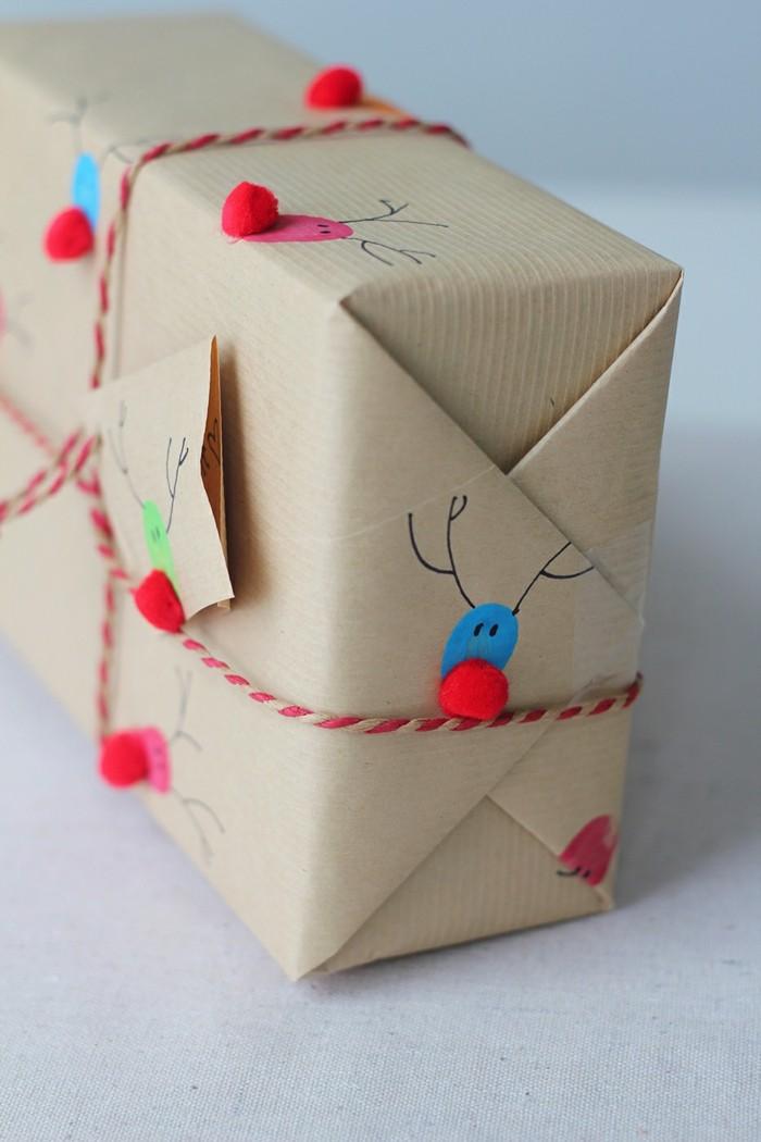 geschenke origenell verpacken weihanchtsbasteln geschenkideen kleine details