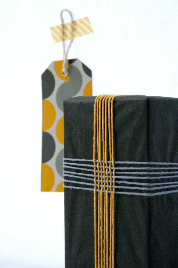 geschenke origenell verpacken weihanchtsbasteln geschenkideen kreativ mit farbe
