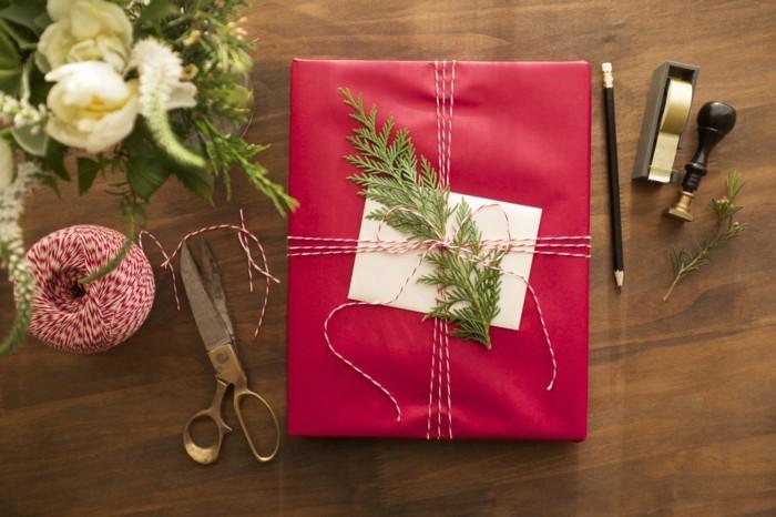 geschenke origenell verpacken weihanchtsbasteln geschenkideen mit akzent