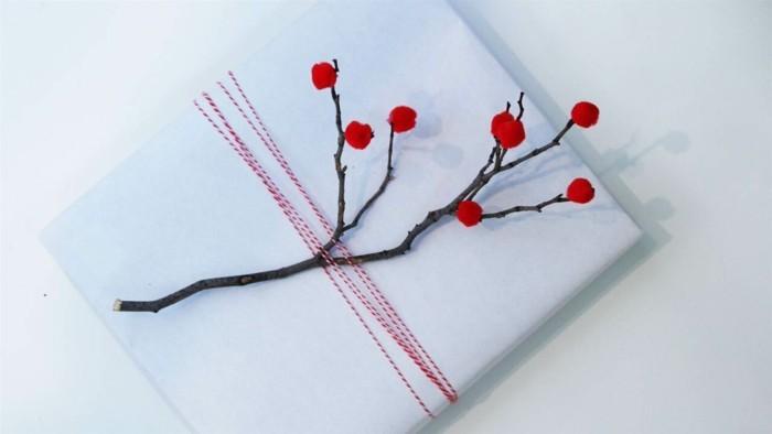 geschenke origenell verpacken weihanchtsbasteln geschenkideen stilvoll