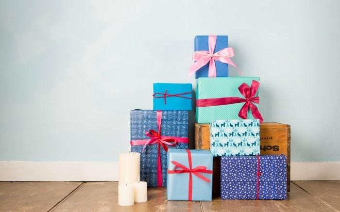 geschenke origenell verpacken weihanchtsbasteln geschenkideen unter dem baum