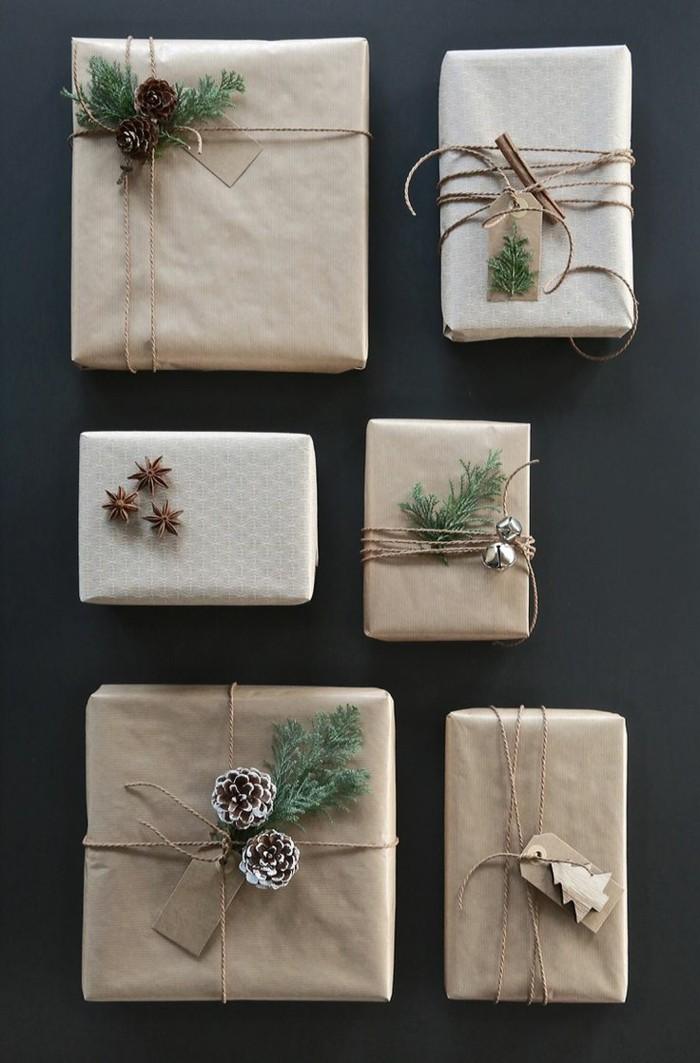 geschenke origenell verpacken weihanchtsbasteln geschenkideen