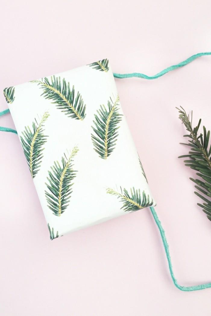 geschenkpapier weihnachten diy ideen fotodruck