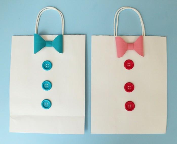 geschenkpapier weihnachten diy ideen individuell