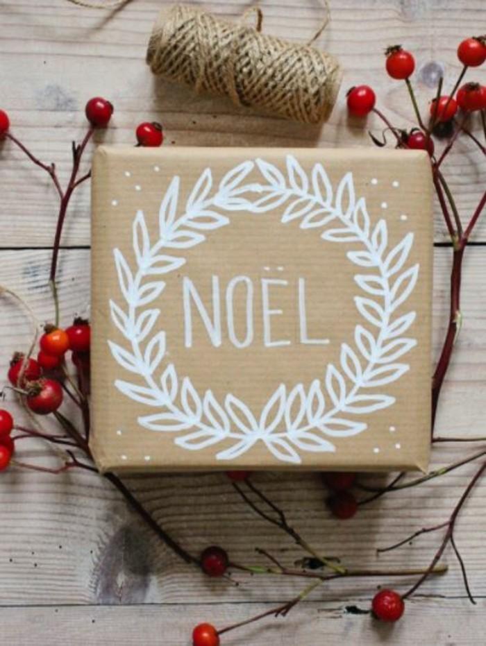 geschenkpapier weihnachten diy ideen mit papier