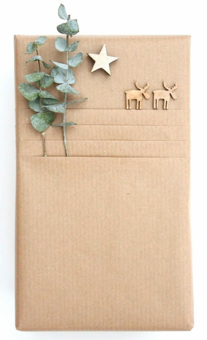 geschenkpapier weihnachten diy ideen weihnachtsbasteln mit kindern