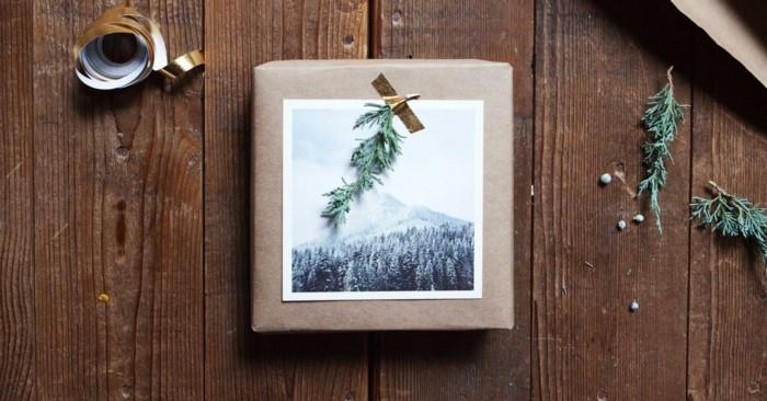 geschenkpapier weihnachten diy ideen winterlich foto winter