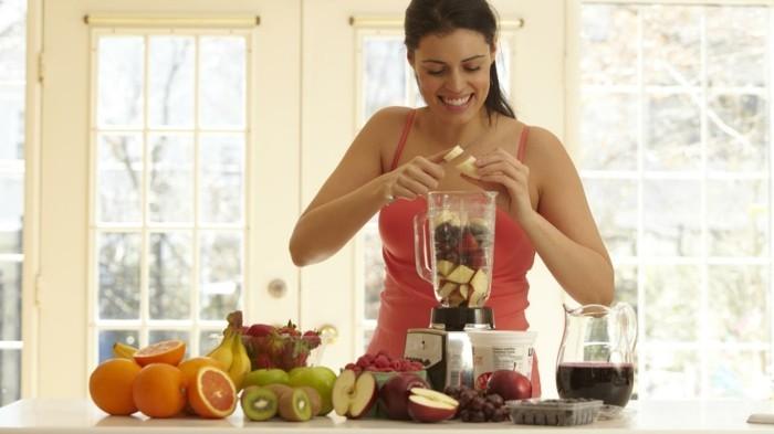 nahrungsergänzungsmittel säfte zubereiten frühstück