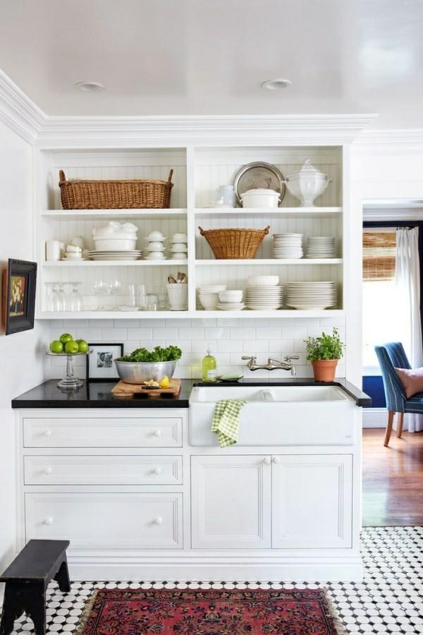 küchenregale schränke weiß