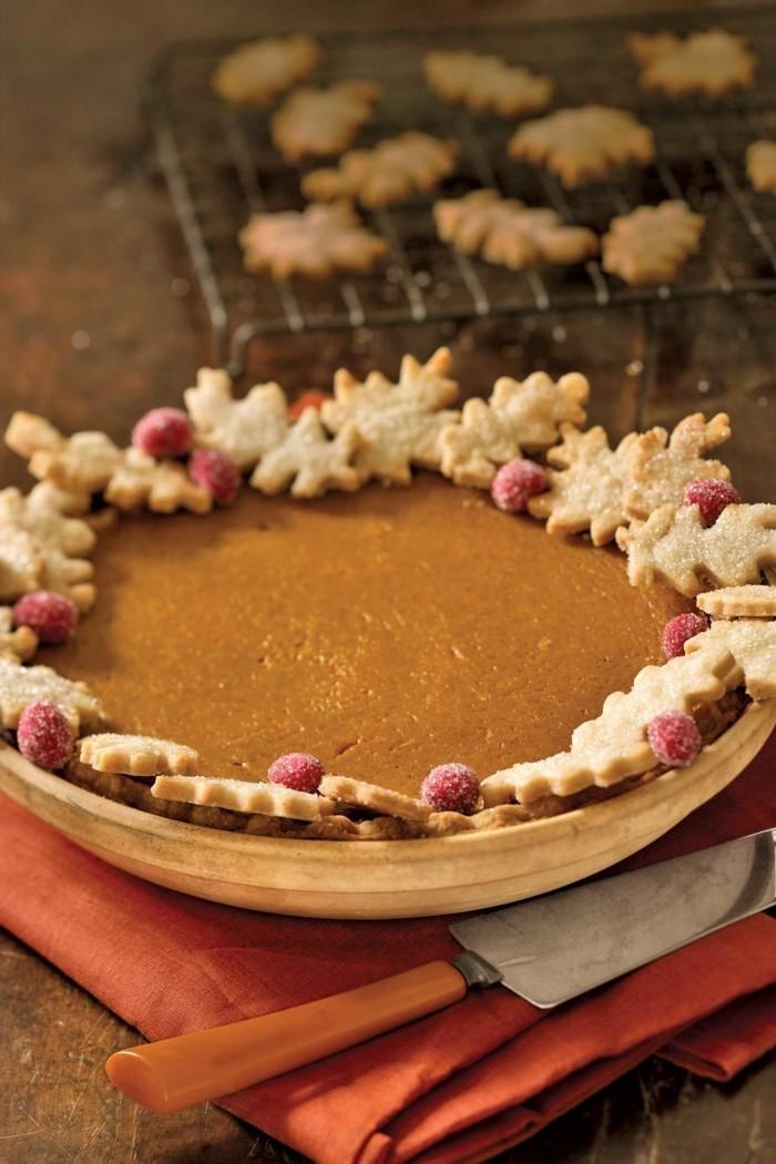 kekse herbstblätter ideen weihnachtsdessert
