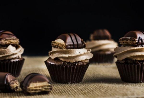kindergeburtstag ideen kinderriegel cupcakes
