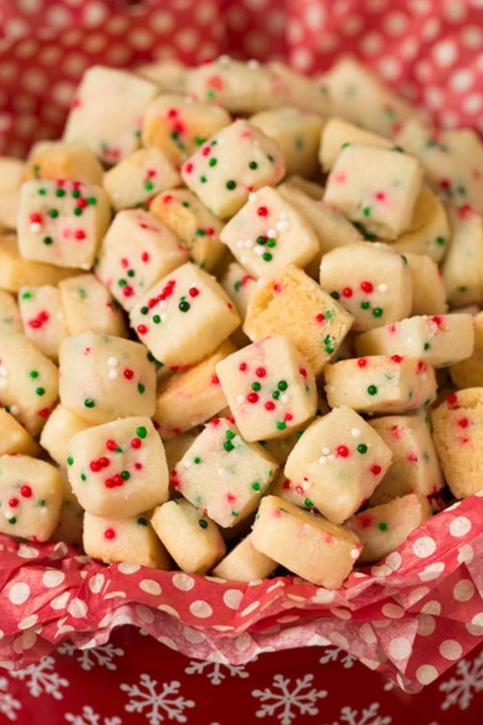kleine kekse backen weihnachtsdessert