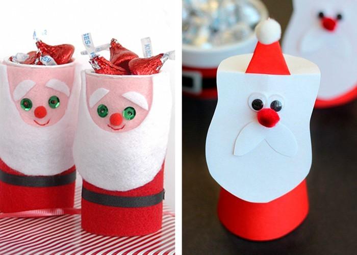 weihnachtsbasteln mit kindern  originelle und ganz