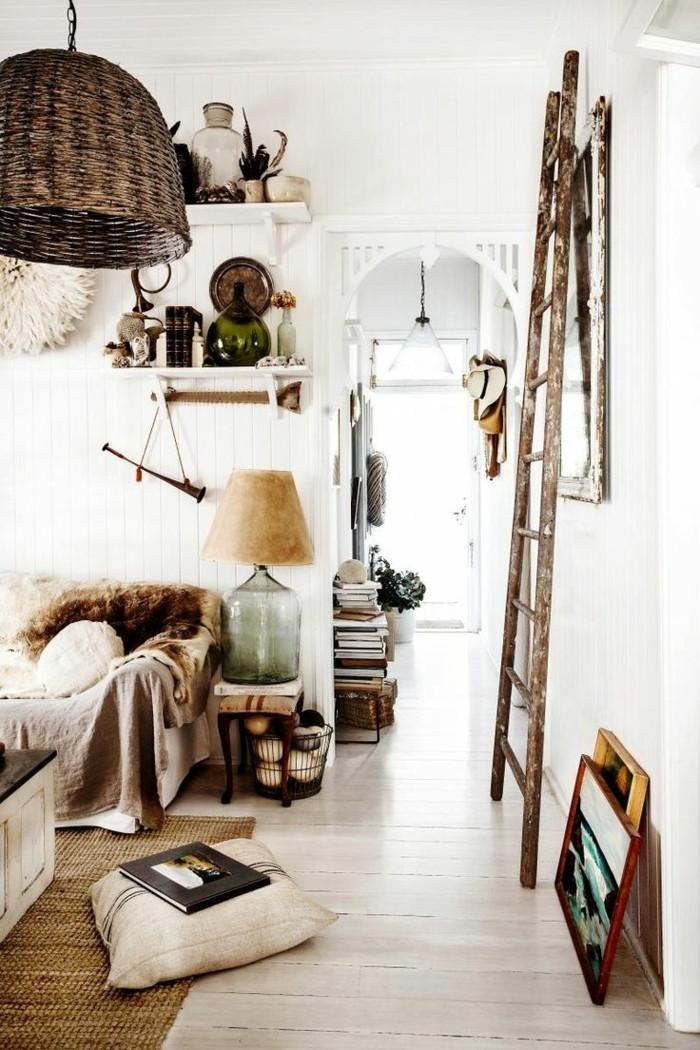 landhausdielen gemütliches wohnzimmer helle farben