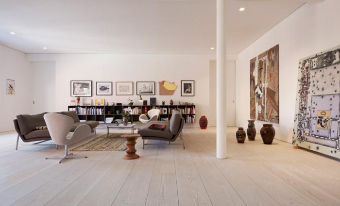 landhausdielen wohnzimmer frisches flair elegante ausstrahlung