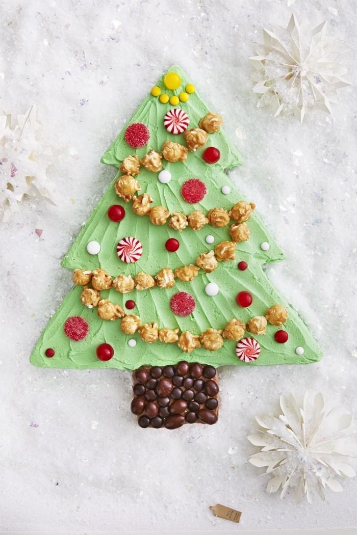 lebkuchen weihnachtsdessert christbaum süss