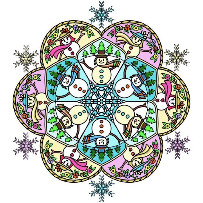 Mandala Zu Weihnachten Ausmalbilder Als Geschenkideen