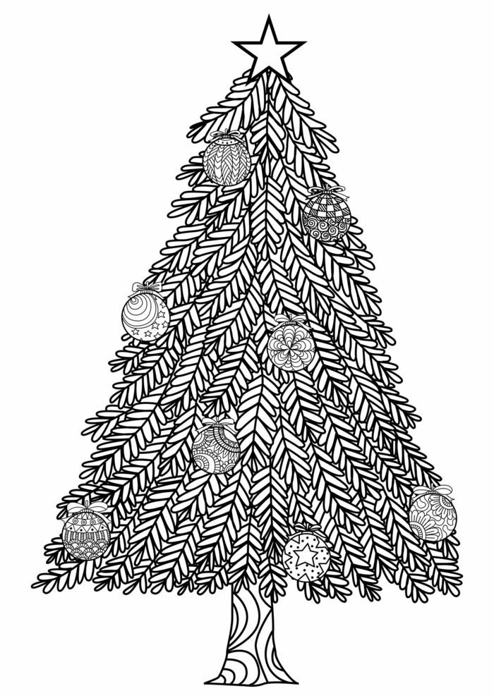 mandala zu weihnachten ausmalbilder weihnachtsbaum