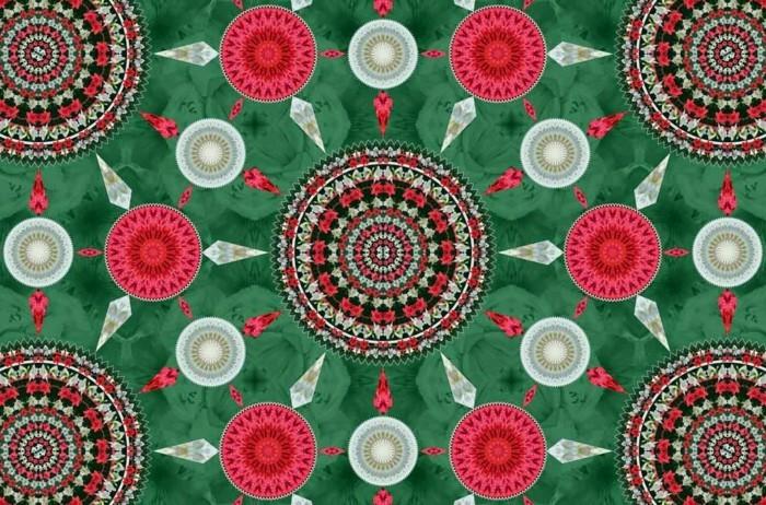 mandala zu weihnachten ausmalbilder weihnachten gruen rot