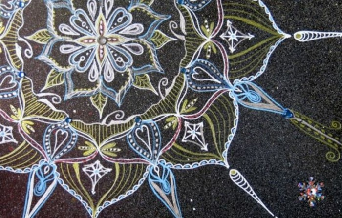 mandala zu weihnachten ausmalbilder weihnachten kreide
