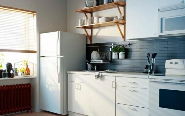 moderne küchenmöbel küchenoberschränke und regale
