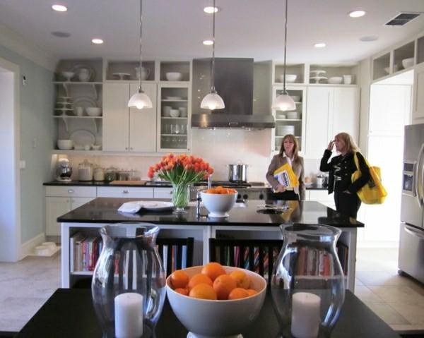 moderne küchenmöbel oberregale