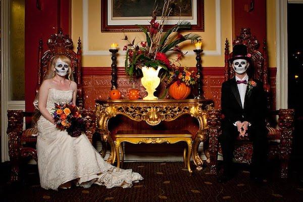 mottohochzeit halloween grausam faszinierend