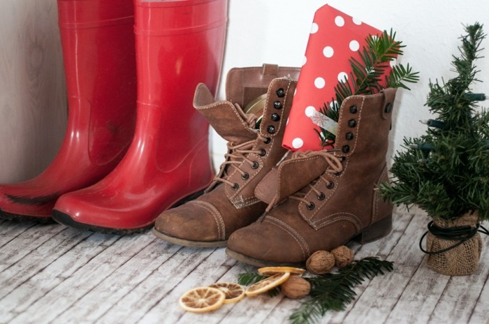 nikolausgeschenke basteln und in den Schuh stecken