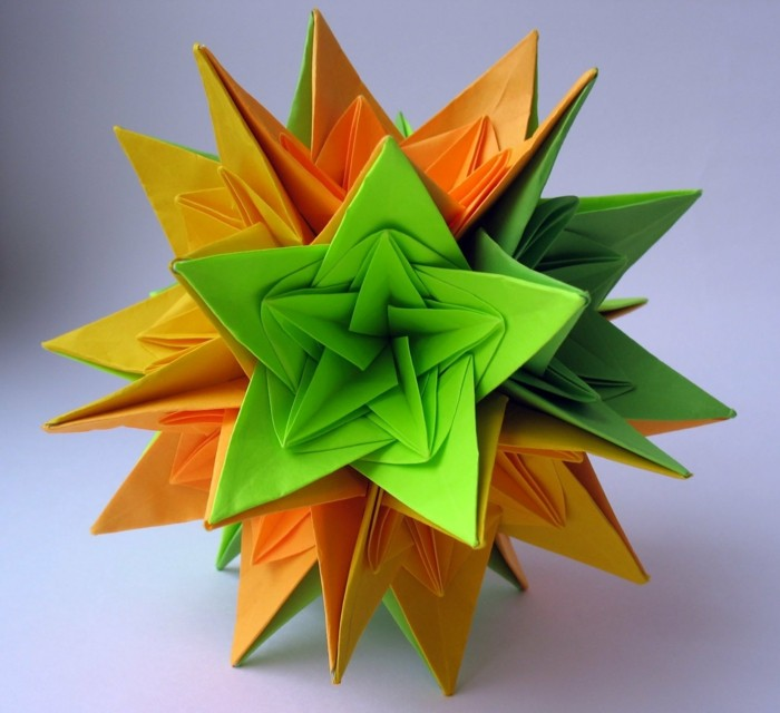 origami weihnachten falten weihnachtsstern anleitung