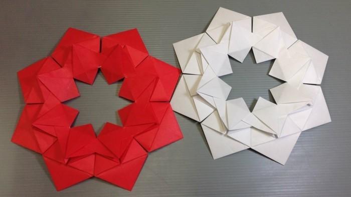 origami weihnachten falten weihnachtsstern