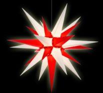 Herrnhuter Stern selber basteln: Weihnachtliche Vorfreude mit langer Tradition