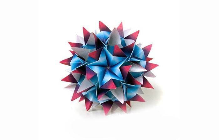 papier origami weihnachtsstern herrnhuter stern selber basteln