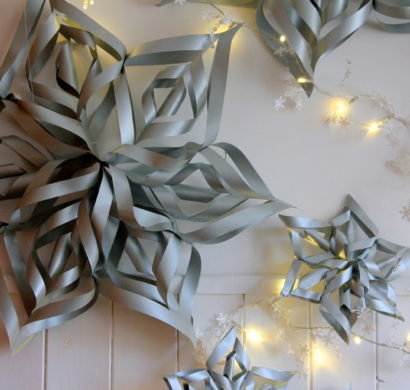 Papiersterne Basteln Zu Weihnachten Oder Silvester Einfache